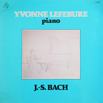 J.S. BACH - Piano Recital